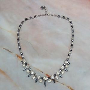 Sherman 1950's Signed Swarovski Necklace